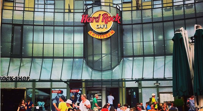 Photo of American Restaurant Hard Rock Cafe Amsterdam at Max Euweplein 57-61, Amsterdam 1017 MA, Netherlands