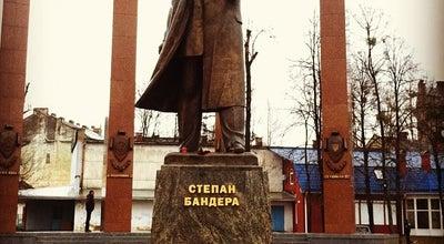 Photo of Monument / Landmark Пам'ятник Степанові Бандері at Вул. Степана Бандери, Львів, Ukraine