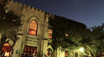 Photo of Concert Hall Charleston Music Hall at 37 John St, Charleston, SC 29403, United States