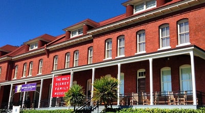 Photo of Museum The Walt Disney Family Museum at 104 Montgomery St, San Francisco, CA 94129, United States