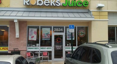 Photo of Smoothie Shop Robeks Fresh Juices & Smoothies at 2834 Ne 8th St, Homestead, FL 33033, United States