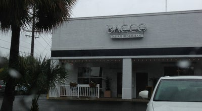 Photo of Italian Restaurant Bacco at 976 Houston Northcutt Blvd, Mt Pleasant, SC 29464, United States