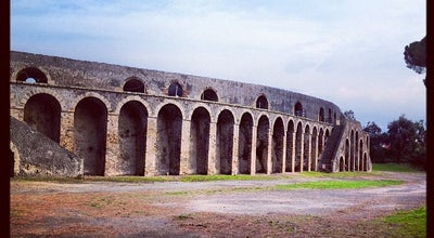 Photo of Historic Site Pompeii Anfiteatro at Pompei, Italy