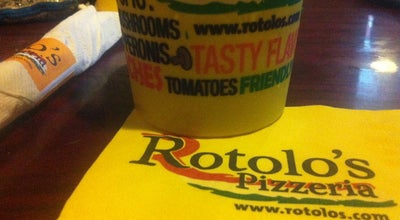 Photo of Pizza Place Rotolo's Pizzeria at 207 E Thomas St, Hammond, LA 70401, United States