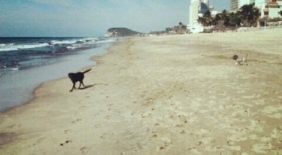 Photo of Beach Playa Brujas at Mazatlan, Mexico