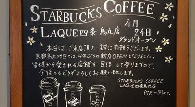 Photo of Coffee Shop Starbucks Coffee LAQUE四条烏丸店 at 四条通室町東入函谷鉾町101, 京都市下京区 600-8009, Japan