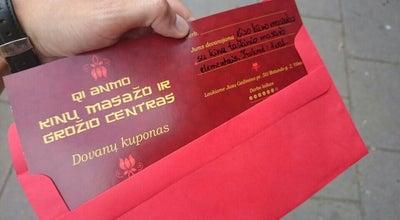 Photo of Spa QI ANMO kinu masazas Gedimino pr. 50 at Lithuania
