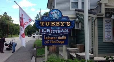 Photo of Ice Cream Shop Tubby's at 512 Main St., Wayne, ME 04284, United States