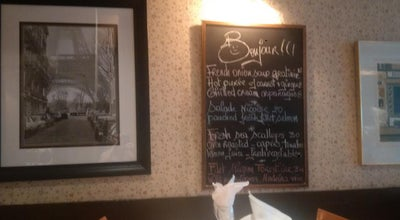 Photo of French Restaurant Jacques Bistro du Parc at 126 Cumberland St., Toronto, Ca M5R 1A6, Canada