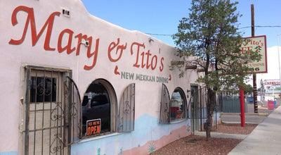 Photo of Mexican Restaurant Mary & Tito's Cafe at 2711 4th St Nw, Albuquerque, NM 87107, United States