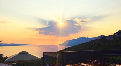 Photo of Mediterranean Restaurant Konoba Galinac at Svetog Jurja 52, Brela 21322, Croatia