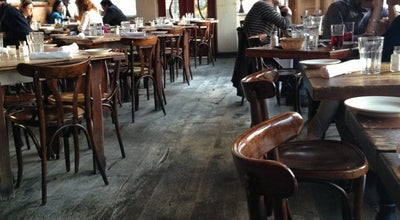 Photo of Modern European Restaurant Brick Cafe at 30-95 33rd St, Astoria, NY 11102, United States