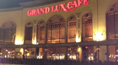 Photo of American Restaurant Grand Lux Cafe at 1 Garden State Plaza, #r1 Rte, Paramus, NJ 07658, United States