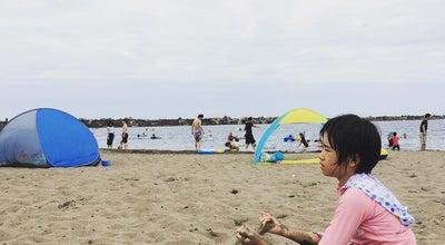 Photo of Beach 東の輪海水浴場 at 東の輪町, 柏崎市, Japan