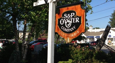 Photo of Seafood Restaurant S&P Oyster Co. at 1 Holmes St, Mystic, CT 06355, United States
