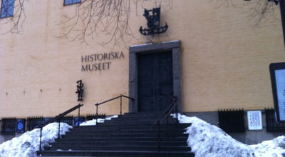 Photo of History Museum Historiska Museet at Narvavägen 13–17, Stockholm 115 22, Sweden