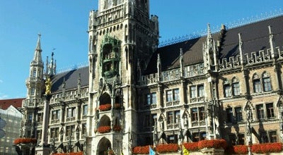Photo of Monument / Landmark Rathaus-Glockenspiel at Marienplatz 8, Munich 80331, Germany