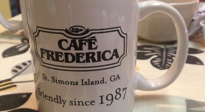 Photo of Cafe Cafe Frederica at 110 Sylvan Blvd, St Simons, GA 31522, United States