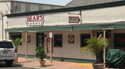 Photo of Sandwich Place Bear's Po-Boys at Gennaro's at 3206 Metairie Rd, Metairie, LA 70001, United States