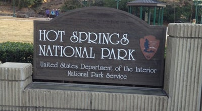 Photo of National Park Hot Springs National Park at 101 Reserve St, Hot Springs, AR 71901, United States
