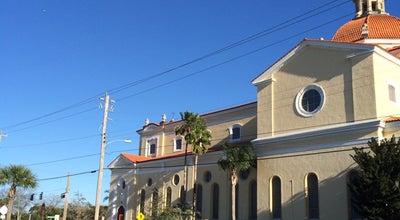 Photo of Church Bascilica of St. Paul Catholic Church at 317 Mullally St, Daytona Beach, FL 32114, United States