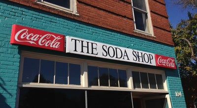 Photo of Cafe The Soda Shop at 104 S Main St, Davidson, NC 28036, United States