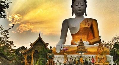 Photo of Buddhist Temple วัดพระธาตุดอยคำ (วัดสุวรรณบรรพต) Wat Phra That Doi Kham at 108 หมู่ 3, Chiang Mai 50100, Thailand
