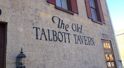 Photo of American Restaurant Old Talbott Tavern at 107 W Stephen Foster Ave, Bardstown, KY 40004, United States