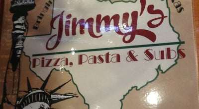 Photo of Italian Restaurant Jimmy's Pizza Pasta & Subs at 300 N 8th St, Midlothian, TX 76065, United States