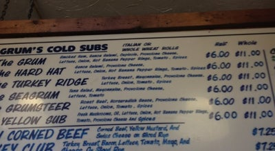 Photo of Sandwich Place Grum's Sub Shoppe at 1776 Coventry Rd, Cleveland Heights, OH 44118, United States