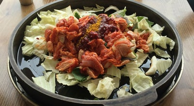 Photo of Korean Restaurant 산촌식당 at 가평읍 북한강변로 1035-13, 가평군, South Korea