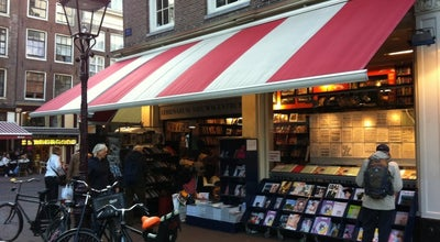 Photo of Bookstore Athenaeum Boekhandel at Spui 14, Amsterdam 1012 XA, Netherlands