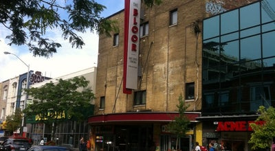 Photo of Indie Movie Theater The Bloor Hot Docs Cinema at 506 Bloor St. W, Toronto, ON M5S 1Y3, Canada