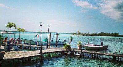 Photo of Lake Los Aluxes at Bahía De Bacalar, Bacalar, Mexico