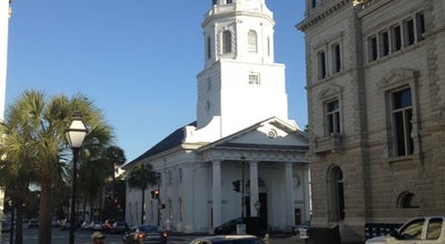 Photo of Church St. Michael's Church at 71 Broad St, Charleston, SC 29401, United States
