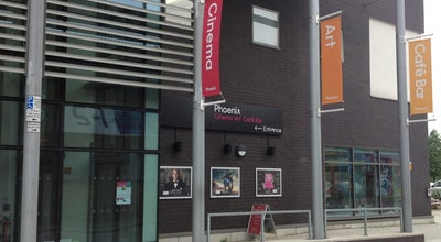 Photo of Movie Theater Phoenix Cinema and Art Centre at 4 Midland Street, Leicester LE1 1TG, United Kingdom