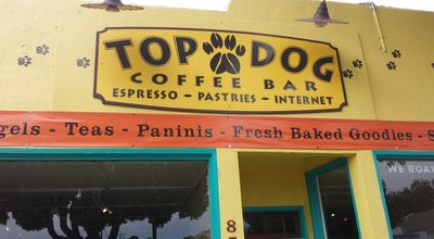 Photo of Cafe Top Dog Coffee Bar at 857 Main St, Morro Bay, CA 93442, United States