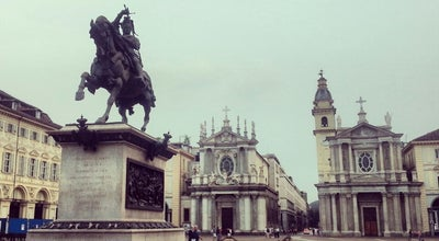Photo of Monument / Landmark Piazza San Carlo at Turin, Italy