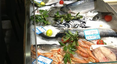 Photo of Seafood Restaurant Soho Restaurant & Fish Work at Via Al Ponte Calvi 20/r, Genova 16100, Italy