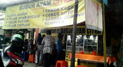 Photo of Breakfast Spot Bubur Ayam Citra at Jalan S Parman 5, Waru, Indonesia