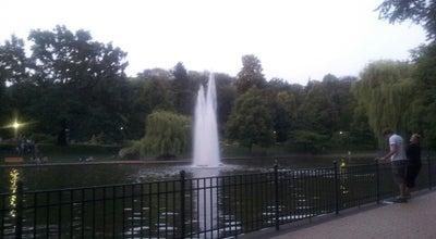 Photo of Lake Großer Teich at Am Friedrichshain, Berlin 10249, Germany
