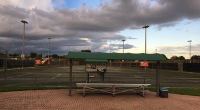 Photo of Tennis Court Frank Veltri Tennis Center at 9101 Nw 2nd St, Plantation, FL 33324, United States