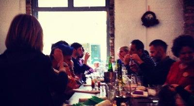 Photo of English Restaurant Jones & Sons at 23-27 Arcola St, London E8 2DJ, United Kingdom