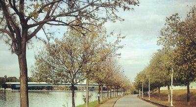 Photo of Lake Paseo del Rey Juan Carlos I at Sevilla, Spain