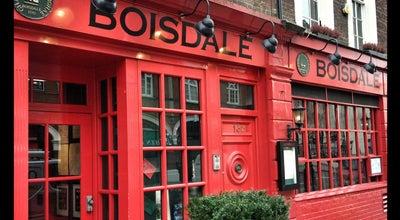 Photo of Modern European Restaurant Boisdale of Belgravia at 15 Eccleston Street, Belgravia, London SW1W 9LX, United Kingdom