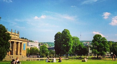 Photo of Park Oberer Schlossgarten at Stuttgart 70173, Germany