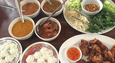 Photo of Ramen / Noodle House ขนมจีนขยุ้ม ร้านคุณน้อย at 59/9, แม่สอด 63110, Thailand