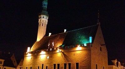 Photo of Plaza Raekoja Plats | Town Hall Square at Raekoja Plats, Tallinn, Estonia