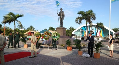 Photo of Historic Site Plaza Libertador Betico Croes at Oranjestad, Aruba