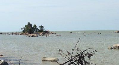 Photo of Beach Pulau Simping at Pantai Sedau, Singkawang, Indonesia